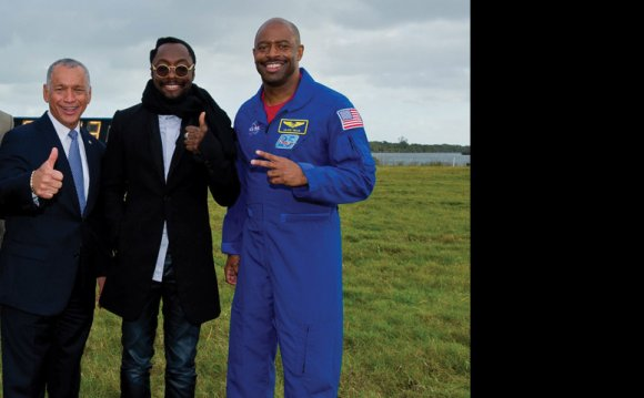 Will i am partners with NASA