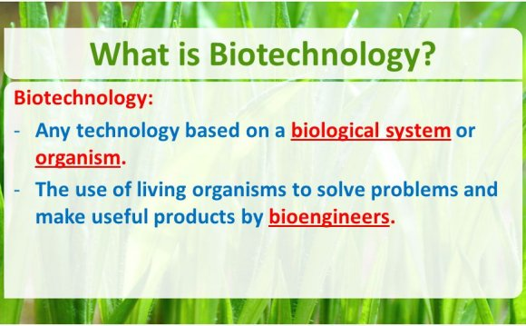 What is Biological technology?