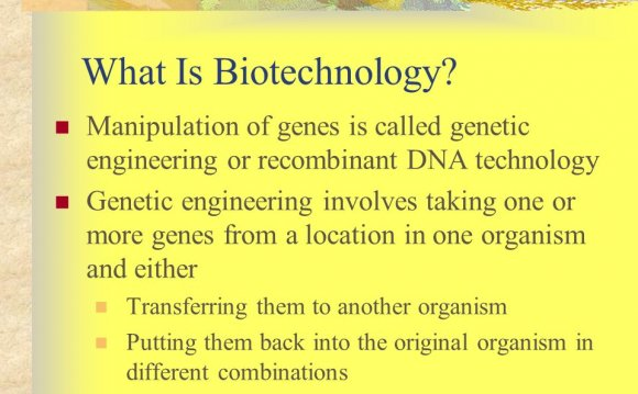 What is Biotech Engineering?