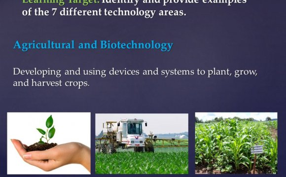 Agricultural and Biotechnology