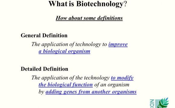 Definition of Biotechnology in Biology