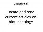 Articles on Biotechnology
