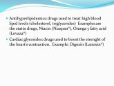 Cardiac glycosides Drugs