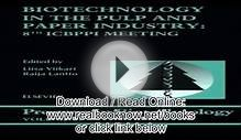 Biotechnology in the Pulp and Paper Industry 8th ICBPPI