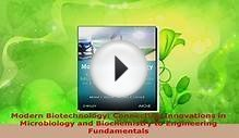 Download Modern Biotechnology Connecting Innovations in