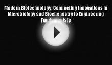 Modern Biotechnology: Connecting Innovations in