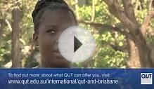 Why did Mary choose to study at QUT?